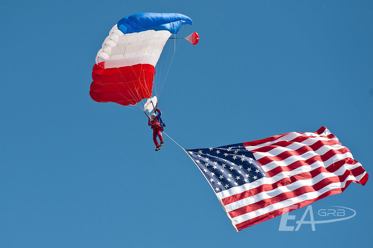 American Flag Jump