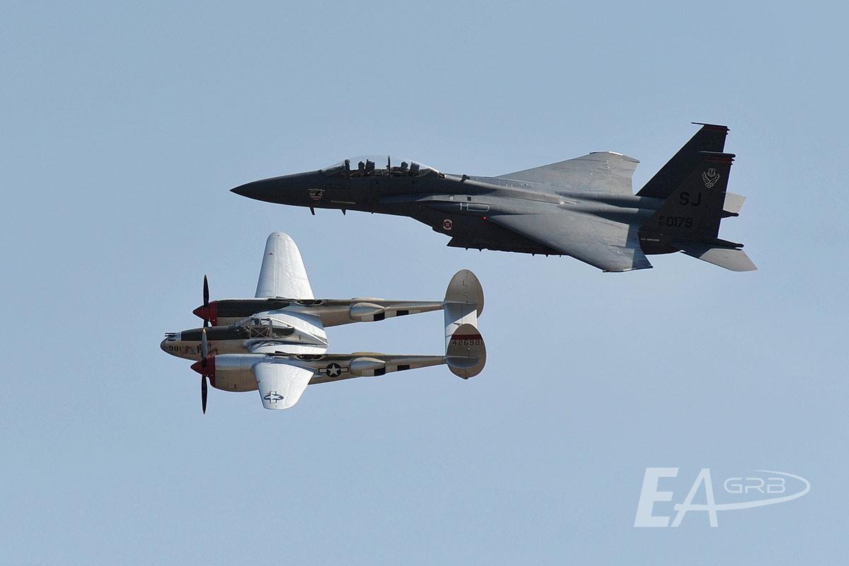 P38 Lightning & F15E Strike Eagle LRZ