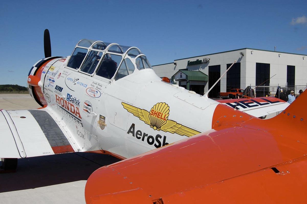 Aeorshell Aerobatic Team